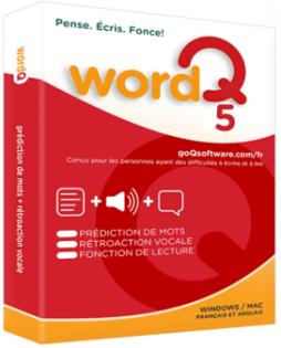 WordQ 5 (Windows et Mac) - Boutique en ligne - Math et Mots Monde